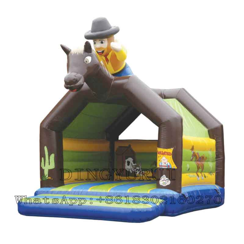 Inflatable castle Inflatable trampoline-07