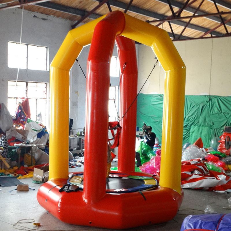 Inflatable trampoline-30