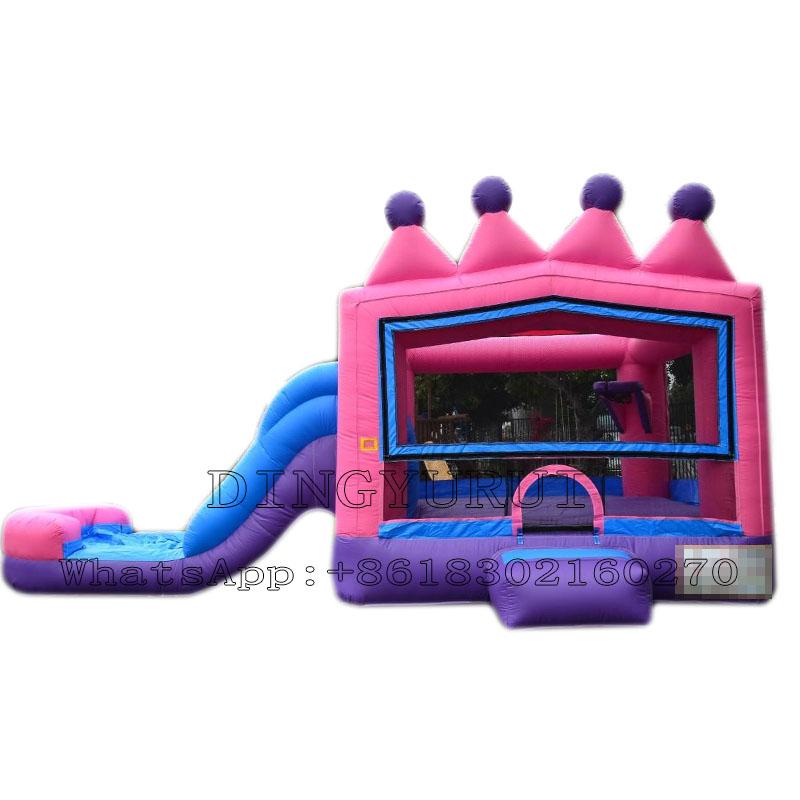 Inflatable bounce combo-01